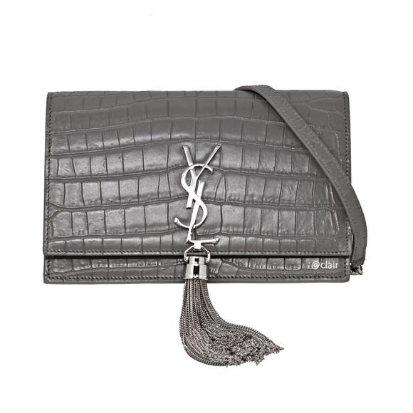 Saint Laurent Handbags - Saint Laurent Monogram Kate Tassel Wallet-On-Chain
